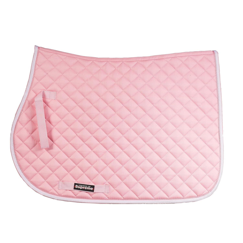 Horze Choozeアンチスリップフィットすべて目的サドルパッド Horse/EU F Pink(PI) B01E9A42L4
