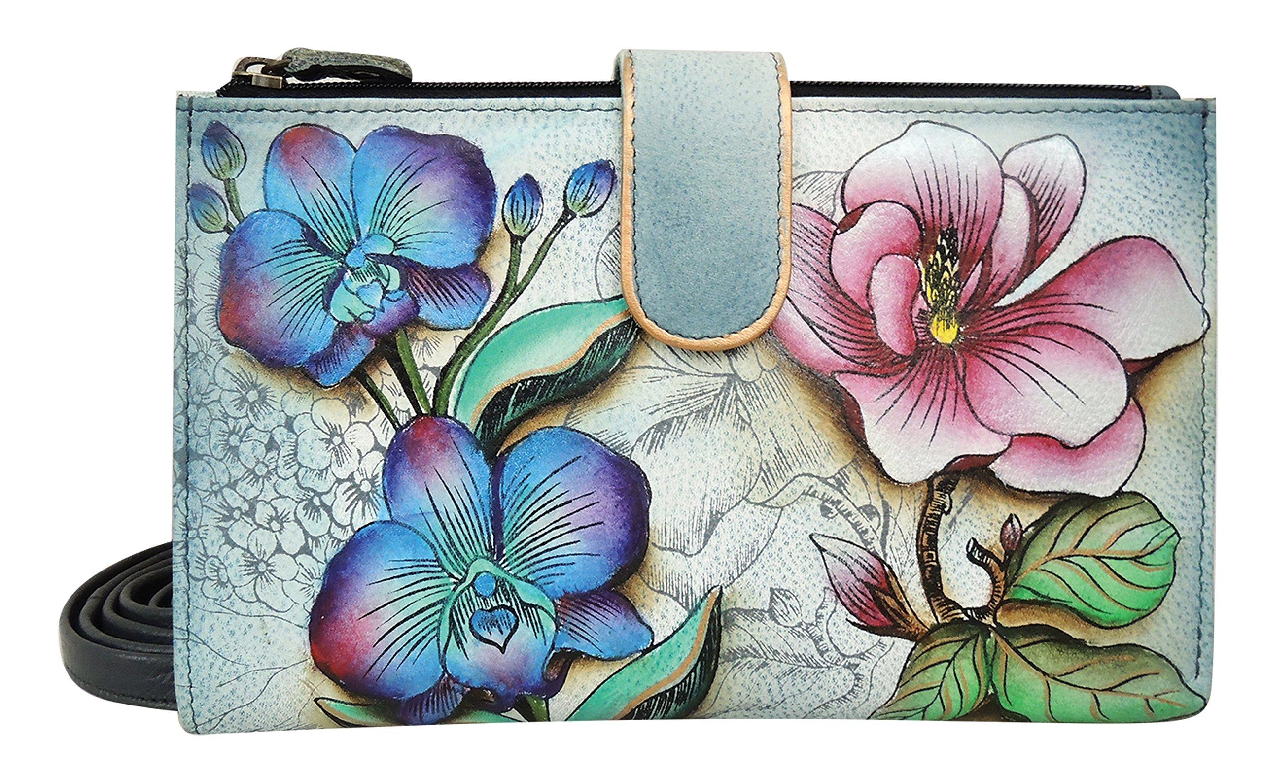 Anuschka Large Smart Phone Case FF, Floral Fantasy, One Size