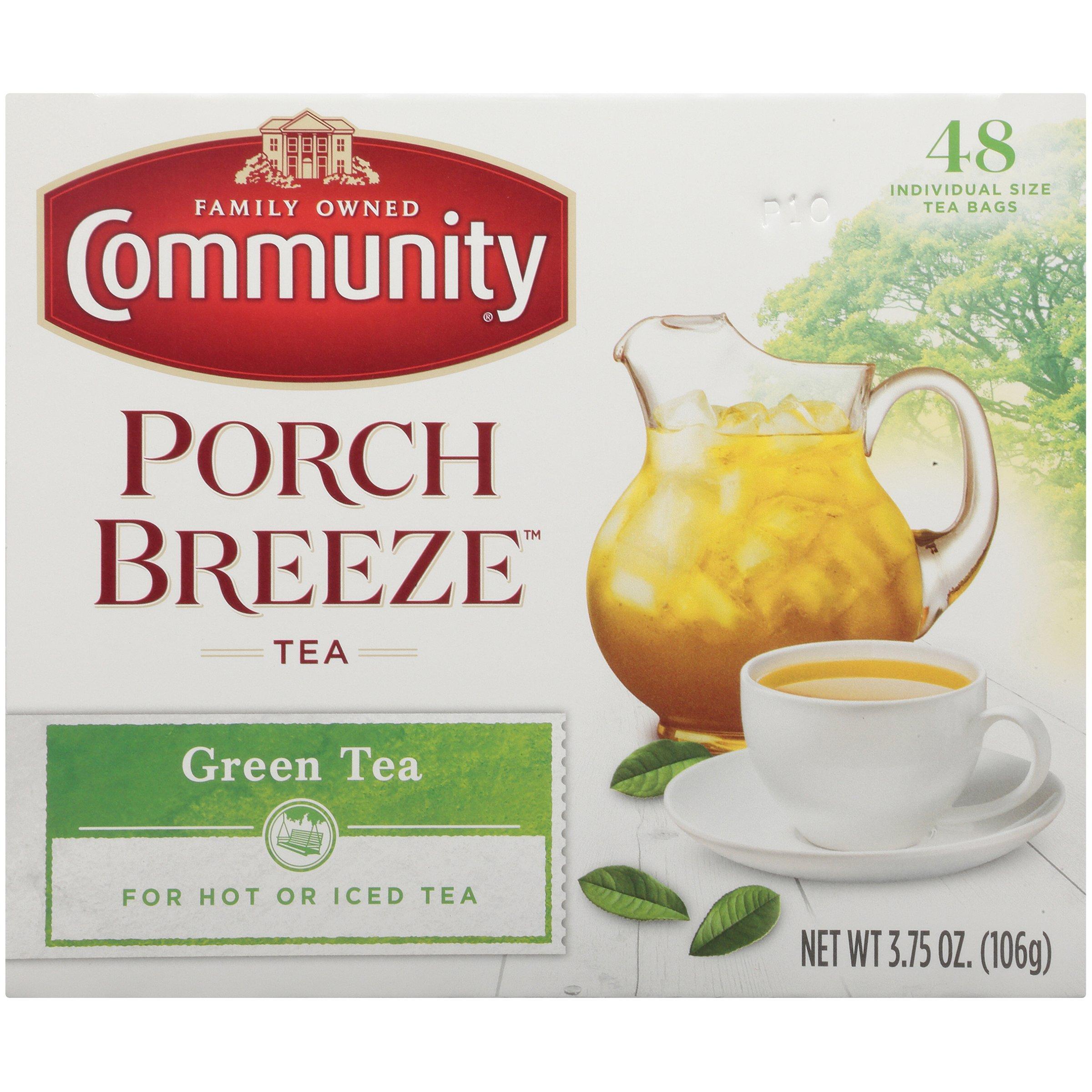 Community Coffee Green Tea Bags, 3.73 oz., 6 Count