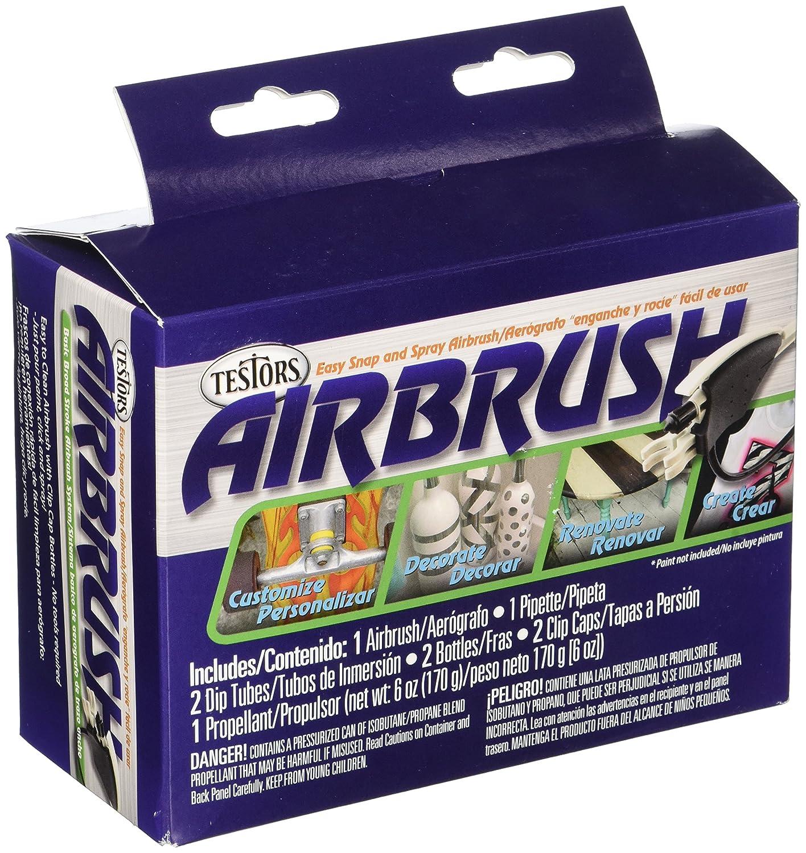 TESTOR CORPORATION 4038 Beginner Air Brush Set - - Amazon com