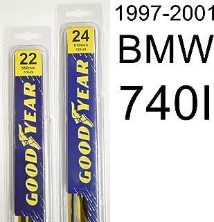 "product image for BMW 740I (1997-2001) Wiper Blade Kit - Set Includes 22"" (Driver Side), 24"" (Passenger Side) (2 Blades Total)"