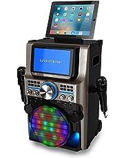 "iKaraoke KS838-BT The Ultimate Bluetooth Party Machine, 7"""
