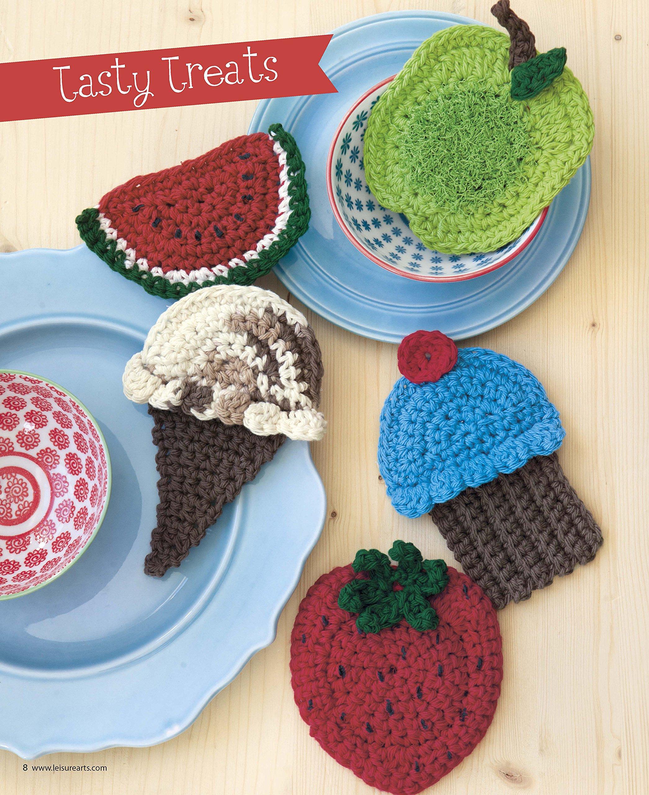 So-Cute Scrubbies | Crochet | Leisure Arts (6876): Robyn Mazza ...