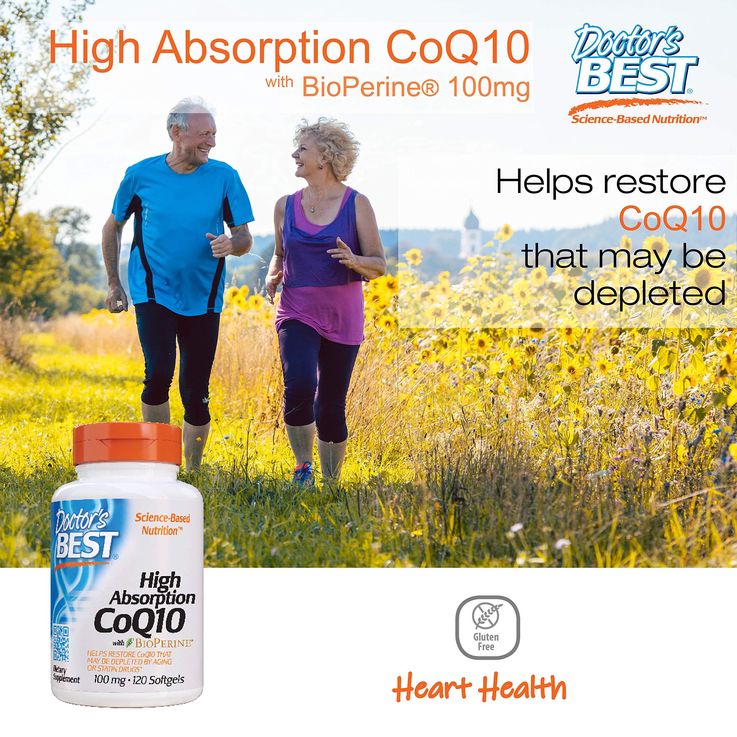 High Absorption CoQ10 with BioPerine