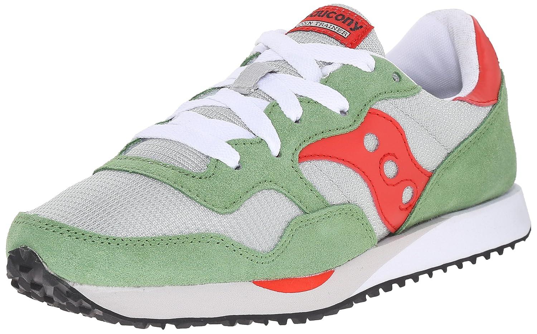 Saucony Originals Women's DXN Trainer Fashion Sneaker B00ZY005CO 11 B(M) US|Grey/Green