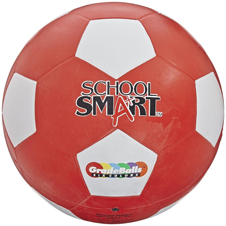 Escuela inteligente pelota de fútbol - tamaño 5 - rojo: Amazon.es ...