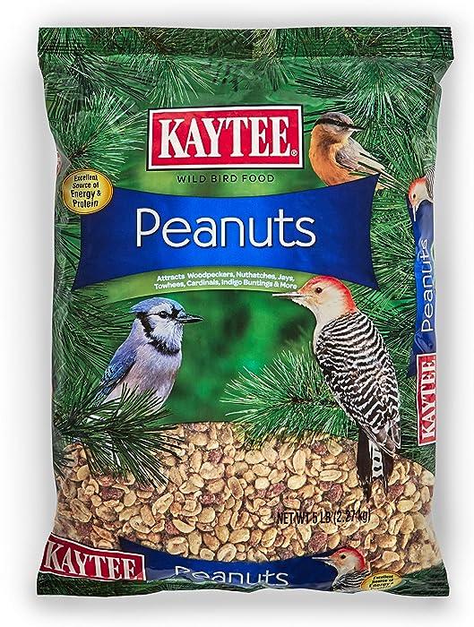 Kaytee Peanuts for Wild Birds, 5-Pound
