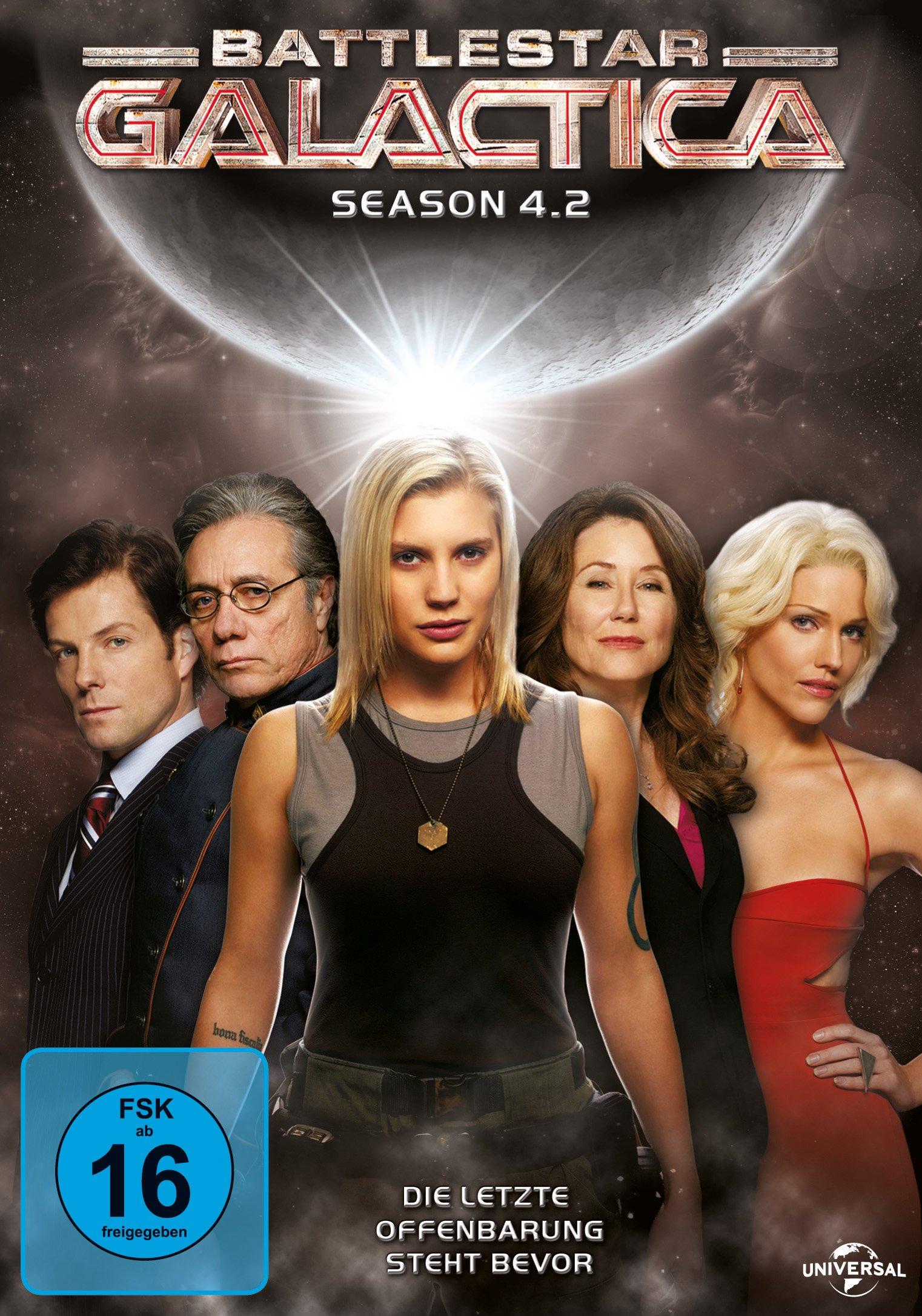 Battlestar Galactica Season 4.2-Repl. [Import allemand]