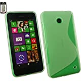 Emartbuy® Ultra Slim Gel Skin Case Cover Clear For Nokia Lumia 530 / Lumia 53...