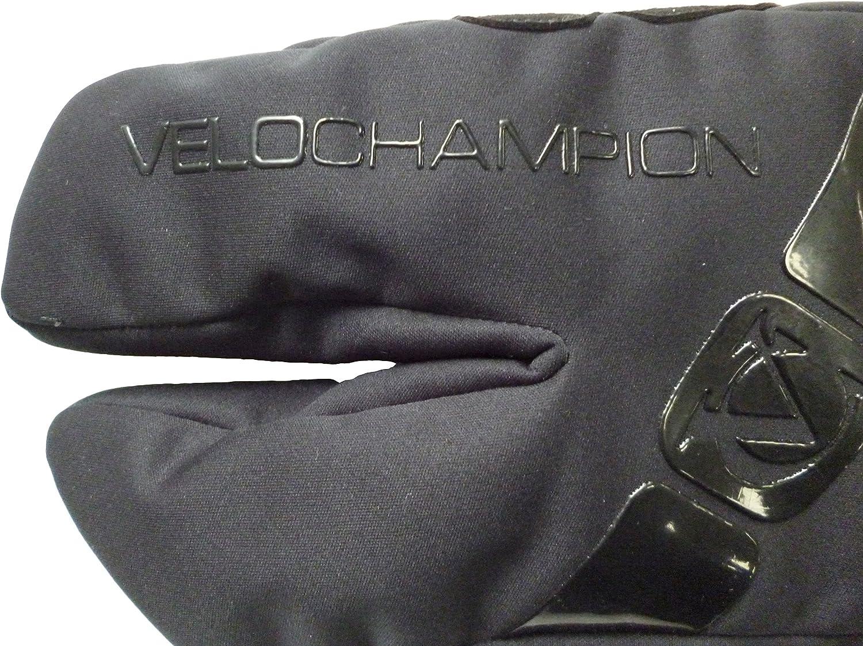 VeloChampion Guantes de Invierno VC Garra Comp Pro Negro