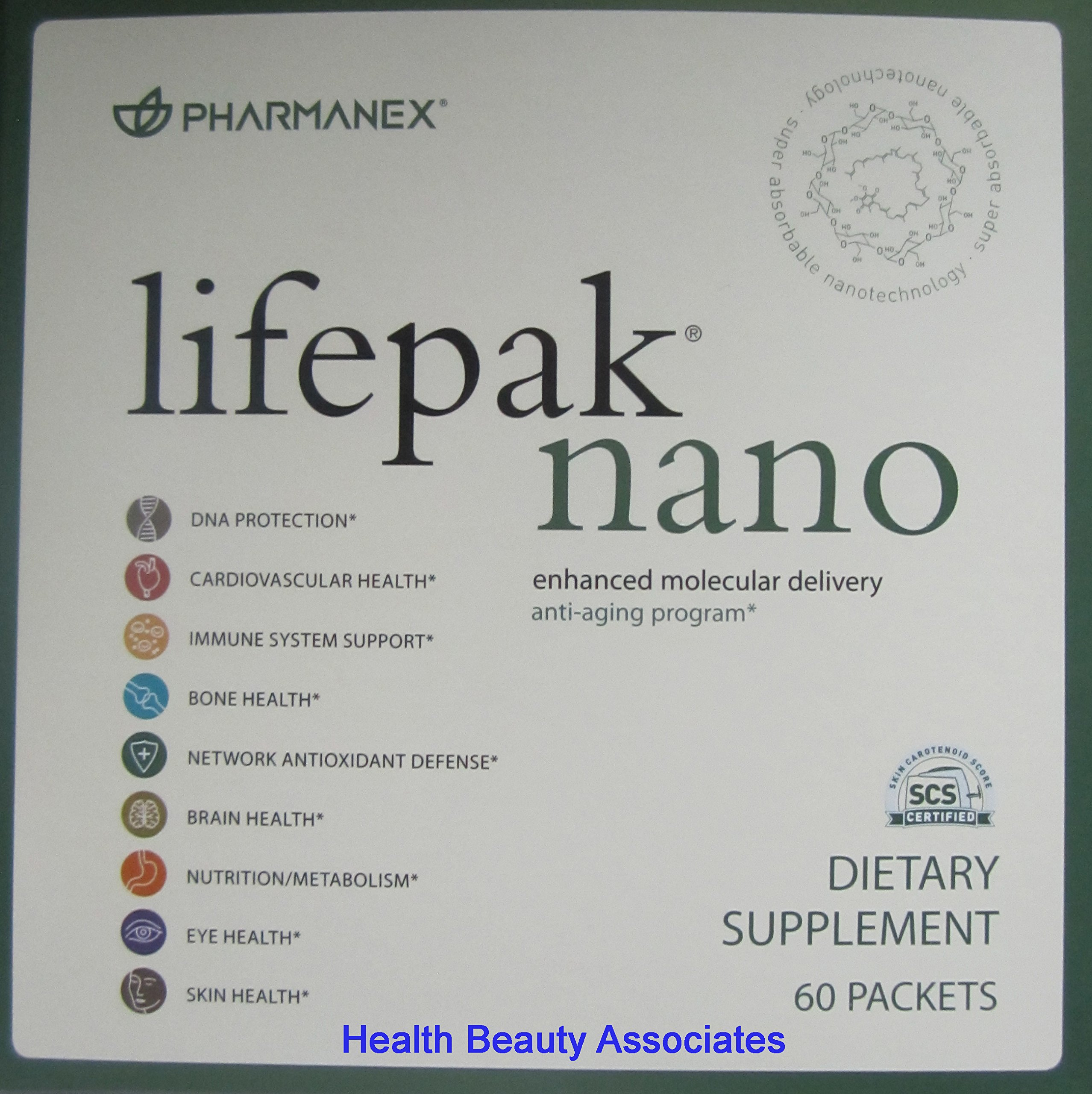 pharmanex lifepak nano anti aging tary supplement