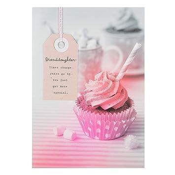 Hallmark Granddaughter Birthday Card Times Change