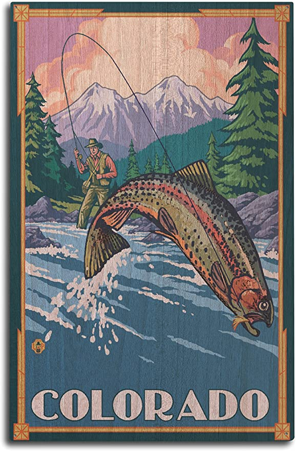 Salmon Fish Metal Art Welcome Sign Plaque Fishing Camp Decor Gifts NEW