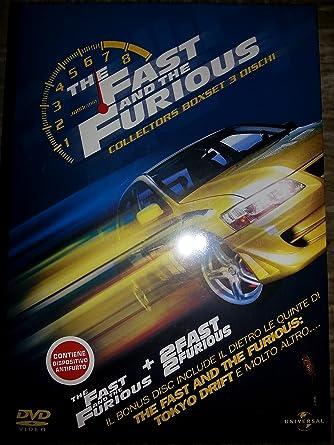 Amazon Fast Furious 2dvd Extra Box Set Dvd Italian Import