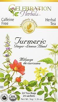 Celebration Herbals Organic Turmeric Tea