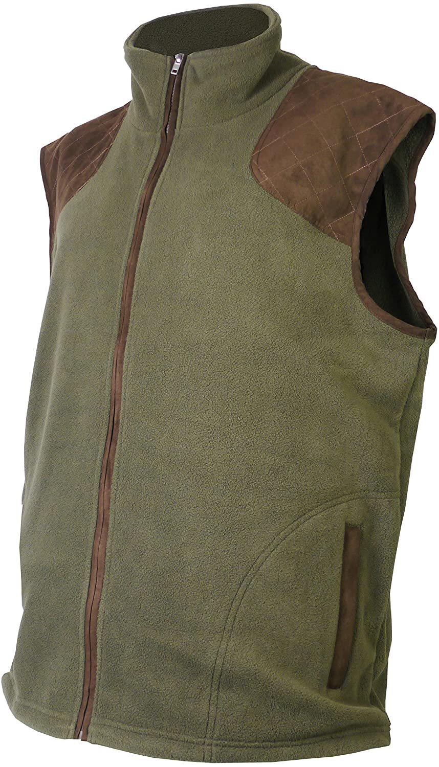 Savage Island Mens Country Shooting Fleece Gilet