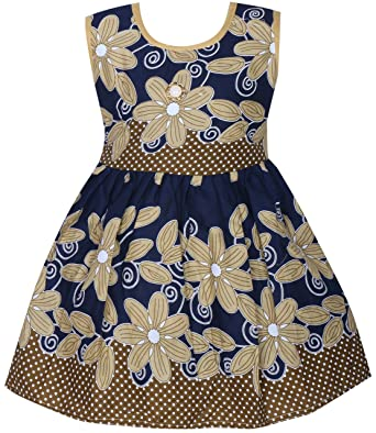 6a28a247a BENKILS Cute Fashion Baby Girl's Cotton Frock Dress for