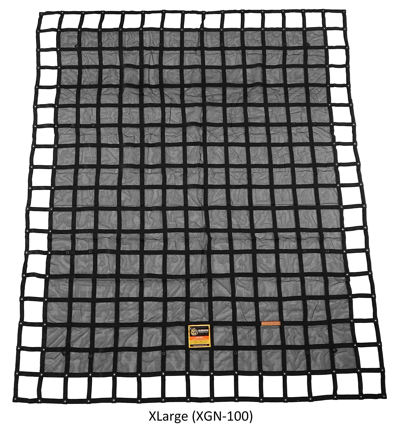 Gladiator Cargo Net - Heavy Duty Truck Cargo Net - Small (SGN-100) 4.75' x 6' ft. Gladiator Cargo Gear