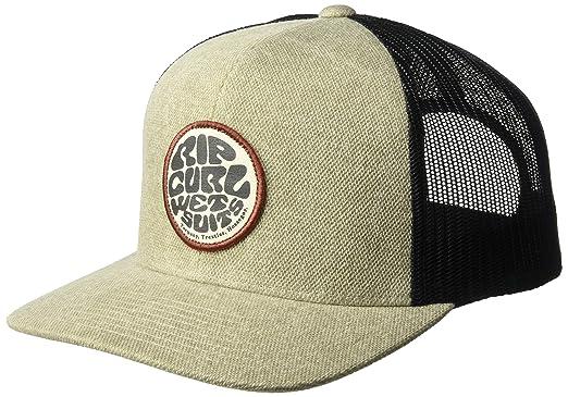 58aad1cbe43759 Amazon.com: Rip Curl Men's Supreme Wettie Trucker, Beige, 1SZ: Clothing