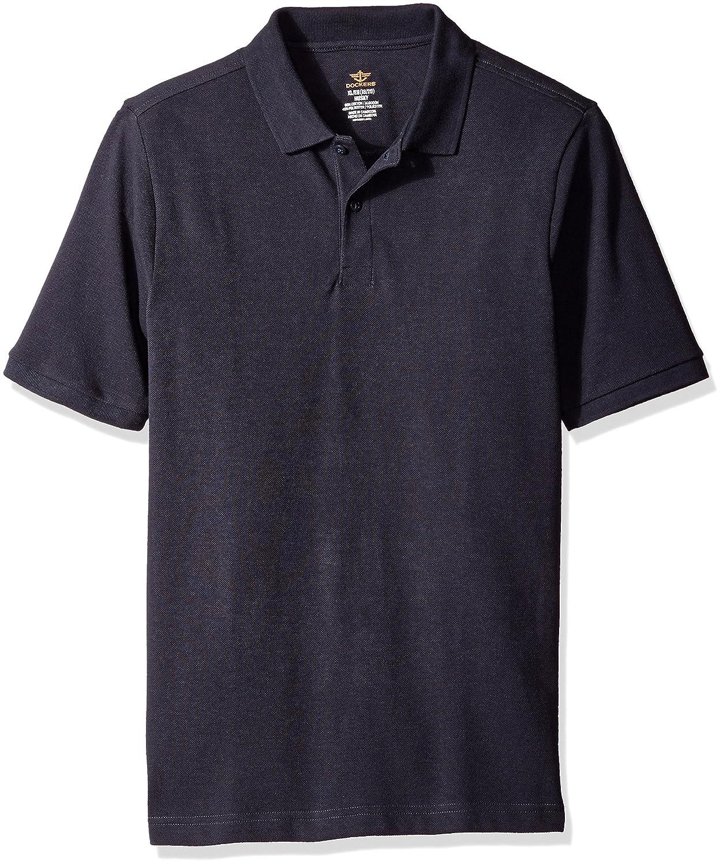 Dockers Boys Little Short Sleeve Pique Polo