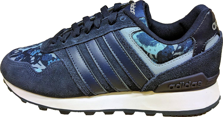 adidas 10K W, Zapatillas de Deporte para Mujer, Azul (Maruni/Azumis/Plamat), 38 2/3 EU: Amazon.es: Zapatos y complementos