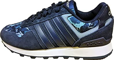 separation shoes a06a0 ccf42 adidas 10K, Baskets Basses Femme, Bleu (Collegiate Navy Mystery Blue Matte