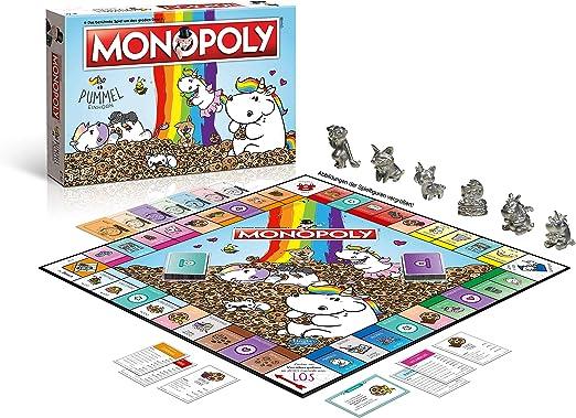 Winning Moves Monopoly Pummeleinhorn Niños Simulación económica - Juego de Tablero (Simulación económica, Niños, Niño/niña, 8 año(s), Alemán, Alemán): Amazon.es: Juguetes y juegos