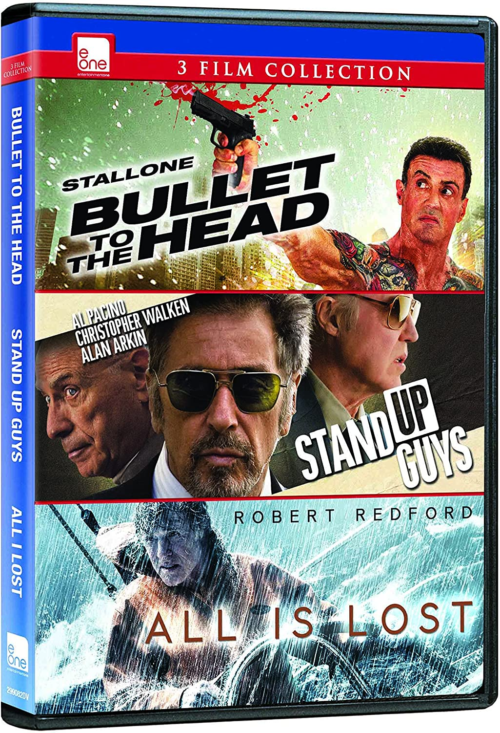 Bullet To The Head Stand Up Guys All Is Lost Dvd Triple Feature Amazon Ca Sylvester Stallone Sarah Shahi Jason Momoa Christopher Walken Al Pacino Robert Redford Walter Hill Fisher Stevens