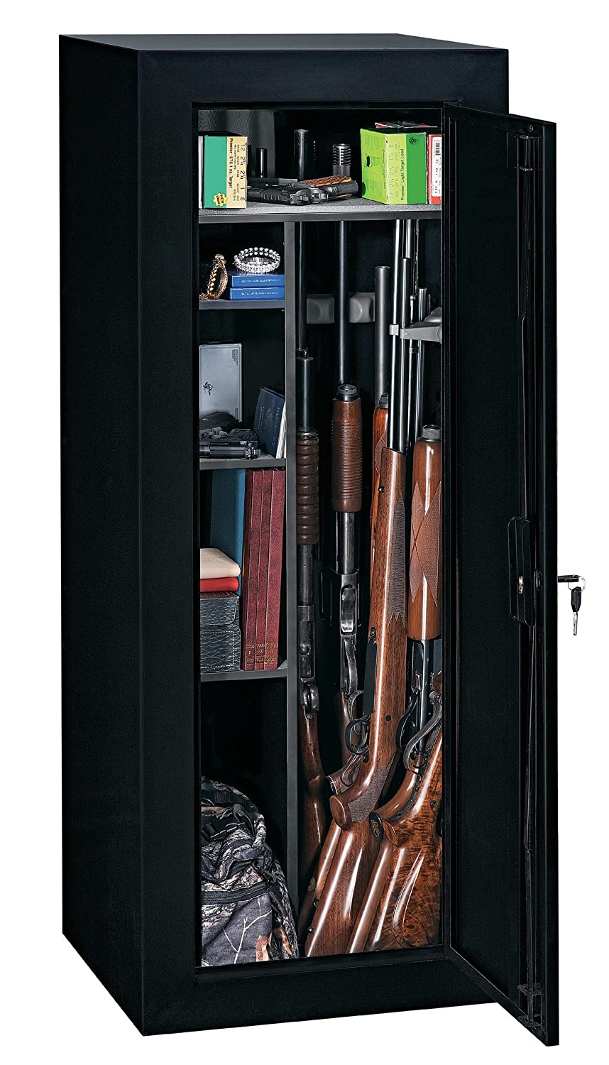 Amazon.com: Stack-On GCB-18C Steel 18-Gun Convertible Steel ...