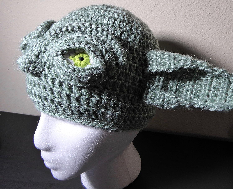 Amazon Yoda Star Wars 3 D Hat Beanie For Child Handmade