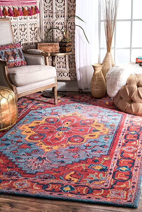 Awesome Amazon Com Nuloom 200Mtgl06A 508 Milagro Medallion Rug Area Dailytribune Chair Design For Home Dailytribuneorg