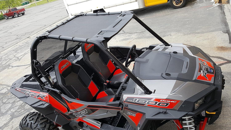 Polaris RZR 2 Seat Mesh Soft Roof 2014-2018 900/1000 MotoRoof