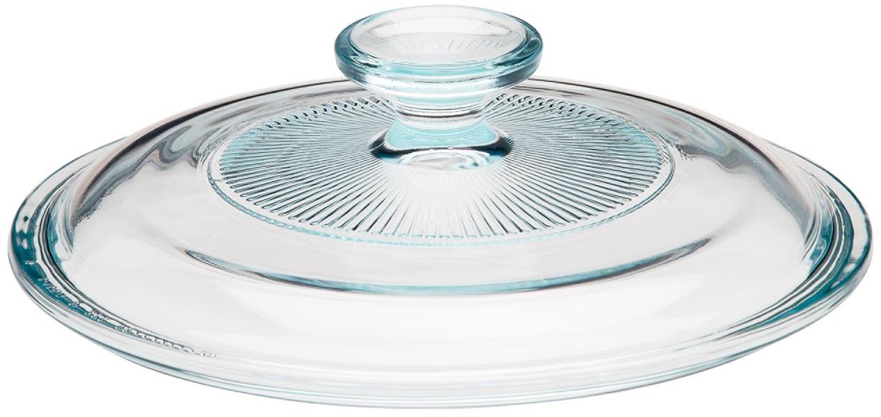 Corningware® French White® 1.5-qt Fluted Round Glass Lid - Corningware