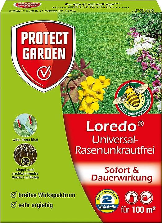 PROTECT GARDEN Universal Rasenunkrautfrei Loredo Herbicida para césped, Beige, 20 ml: Amazon.es: Jardín