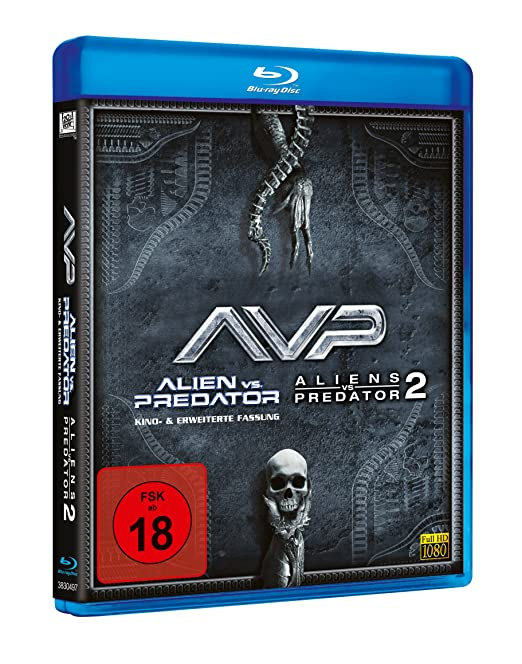 Alien vs. Predator 1+2 [Alemania] [Blu-ray]: Amazon.es: Cine y Series TV