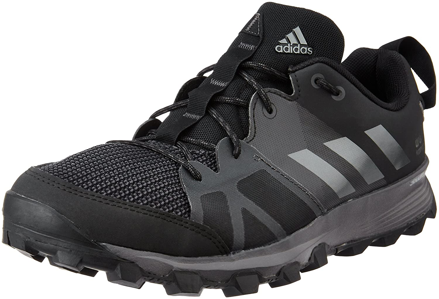 caf21fac460c80 adidas Men s Kanadia 8 Trail Running Shoes Black  Amazon.co.uk  Shoes   Bags