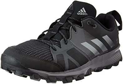 best loved 9a88f 78a04 adidas Kanadia 8 Tr, Men s Competition Running Shoes, Black (Core Black iron