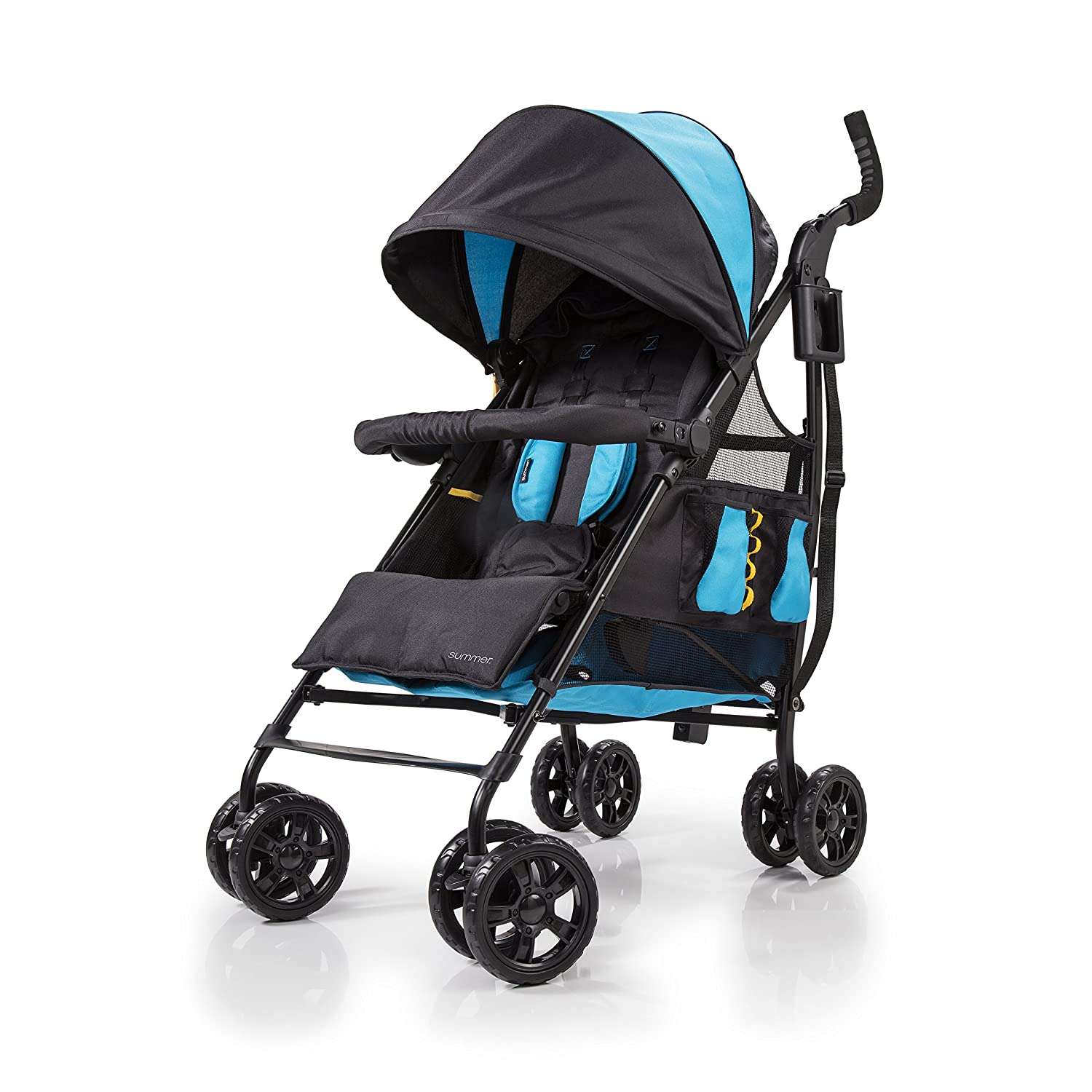Summer Infant 32683 3Dtote CS+ Convenience Stroller, Blue