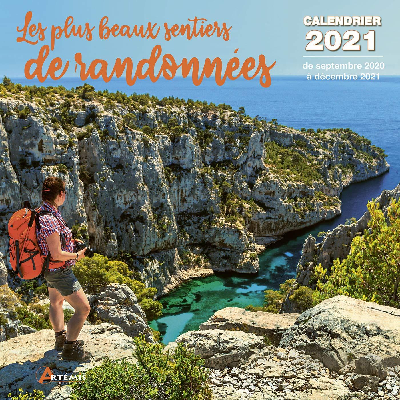Calendrier Les plus beaux sentiers de randonnée 2021 (French