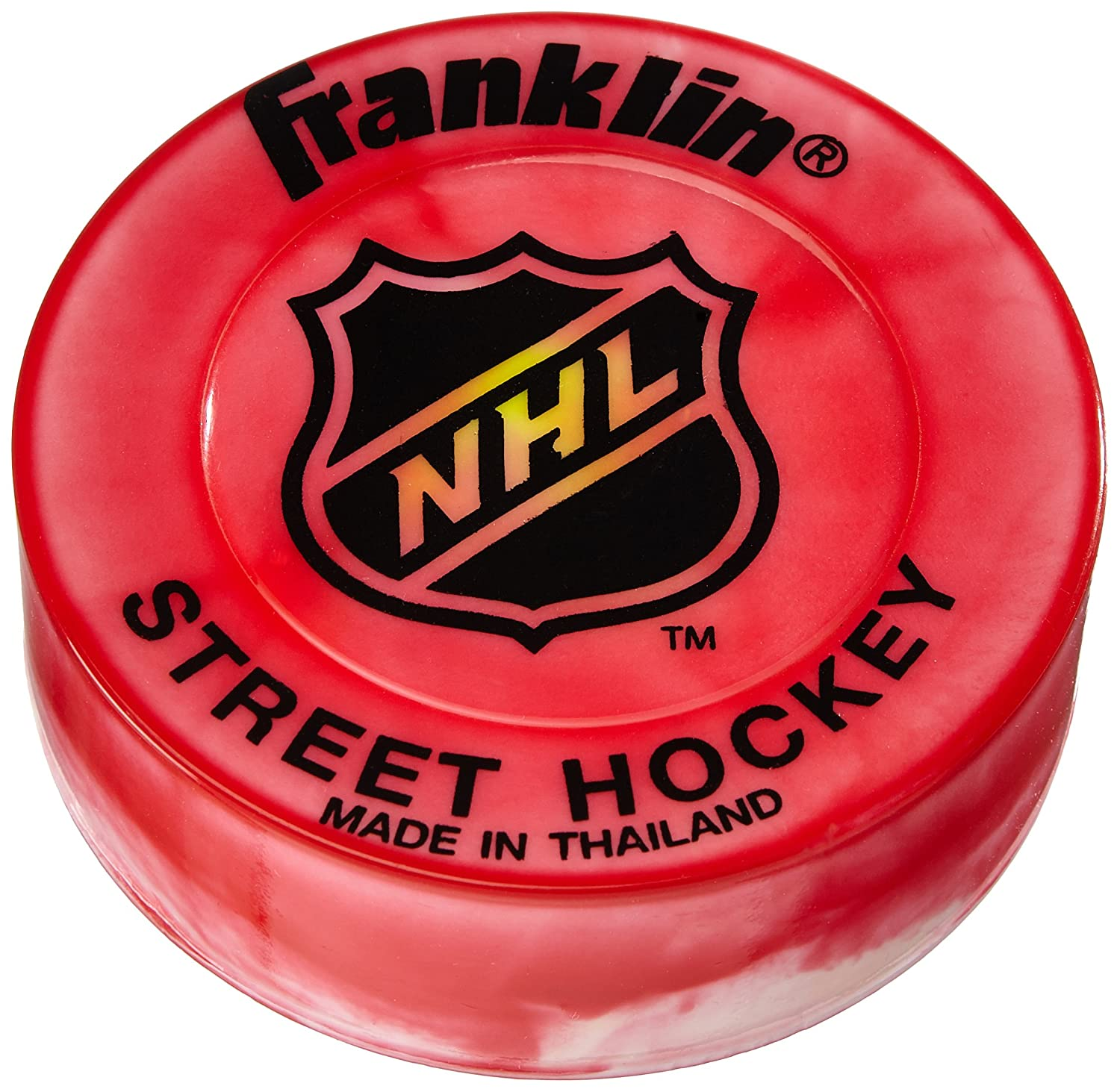 Franklin Street Hockey Puck - Ideal for Smooth Surfaces Rot 42018