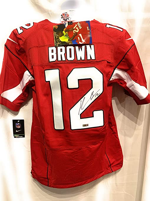 83cb49afe2fe John Brown Arizona Cardinals Signed Autograph Nike Jersey Maroon JBrown  Certified at Amazon s Sports Collectibles Store