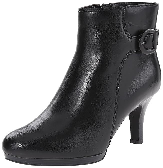 Clarks Women's Tempt Althea Boot, Black Leather, 10 M US: Amazon.ca: Shoes  & Handbags