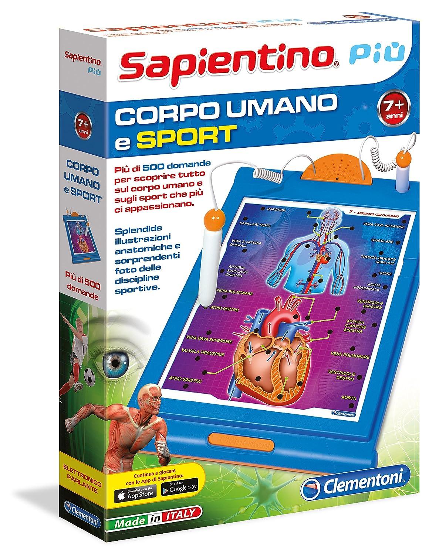 Clementoni 13874 Sapientino Pi/ù Corpo Umano e Sport