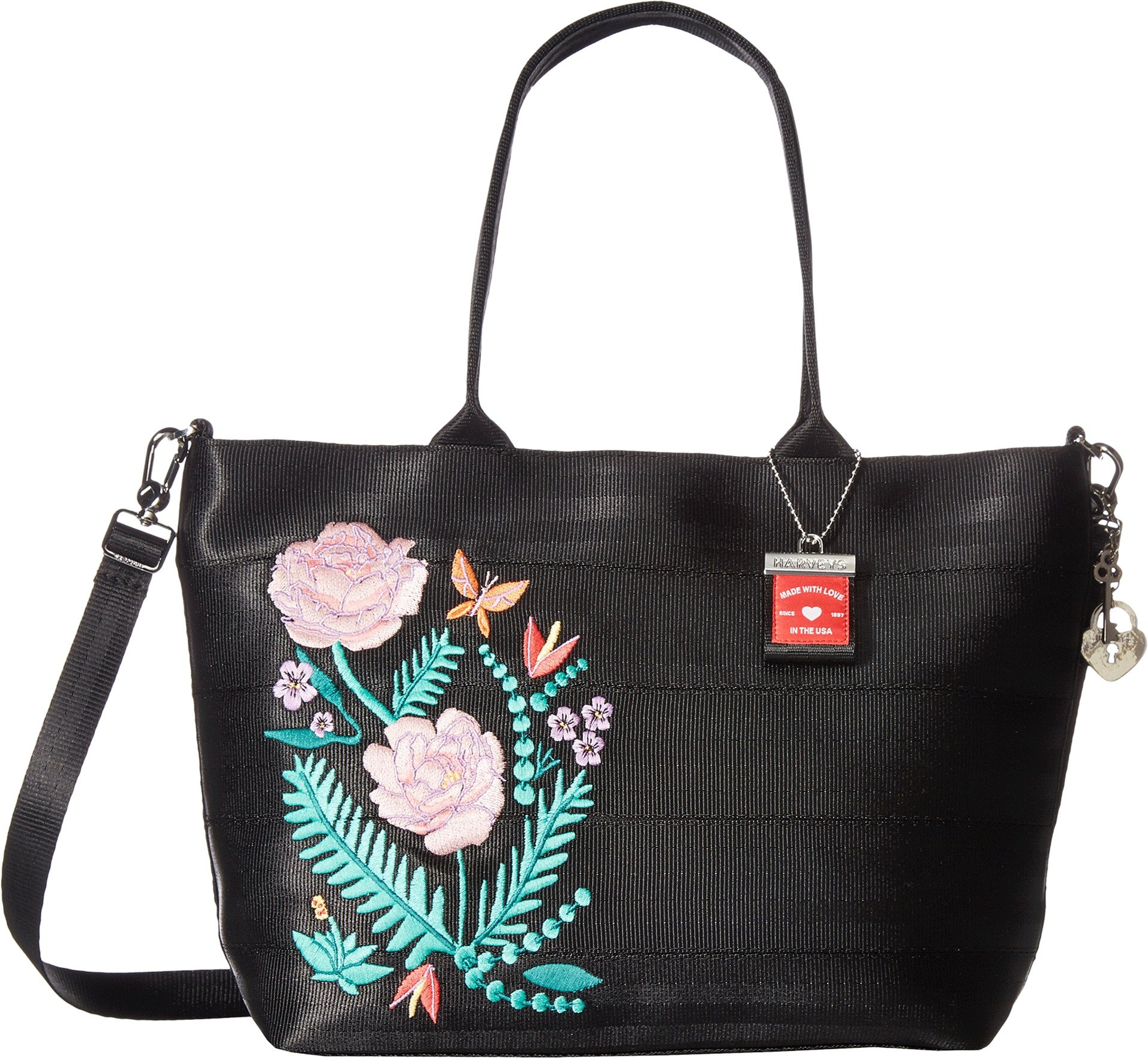 Harveys Seatbelt Bag Women's Mini Streamline Tote Botanical One Size by Harvey's