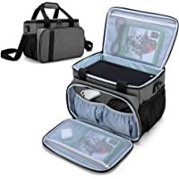 CURMIO Carrying Case Compatible with Xbox Series X Game Console and Accessories, Portable Carrying Bag with Shoulder…