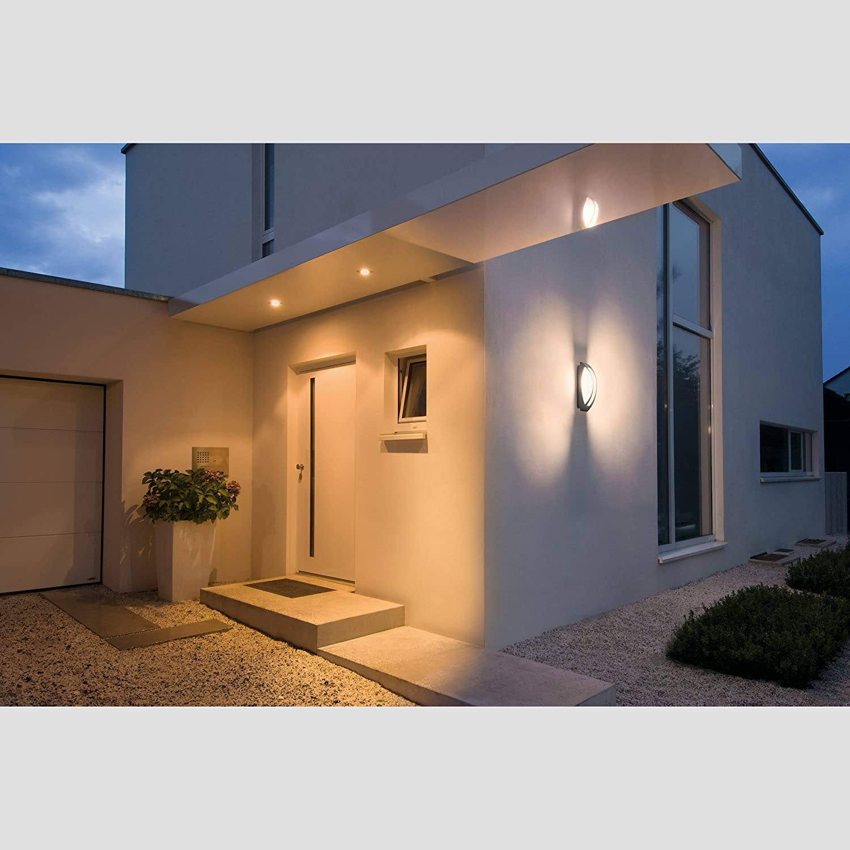 SLV Wandlampe BOX L Anthrazit | Für Die Effektvolle Außenbeleuchtung Von  Hauseingang, Wänden, Wegen, Terrassen, Fassaden, Treppen | LED Wandleuchte,  ...