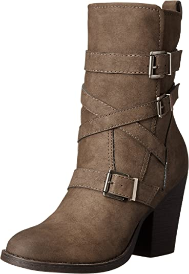 Madden Girl Women's Kloo Engineer Boot