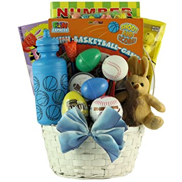 Amazon easter all star easter gift basket for boys ages 6 easter all star easter gift basket for boys ages 6 to 9 years old negle Choice Image