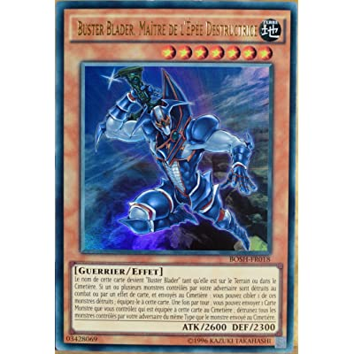 carte YU-GI-OH BOSH-FR018 Buster Blader. Maître De L'epée Destructrice NEUF FR