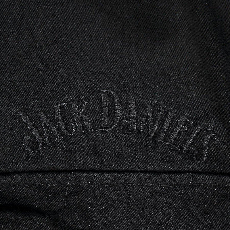 JACK DANIELS Winterjacke Jacke gef眉ttert Black with Logo Gr.XXL